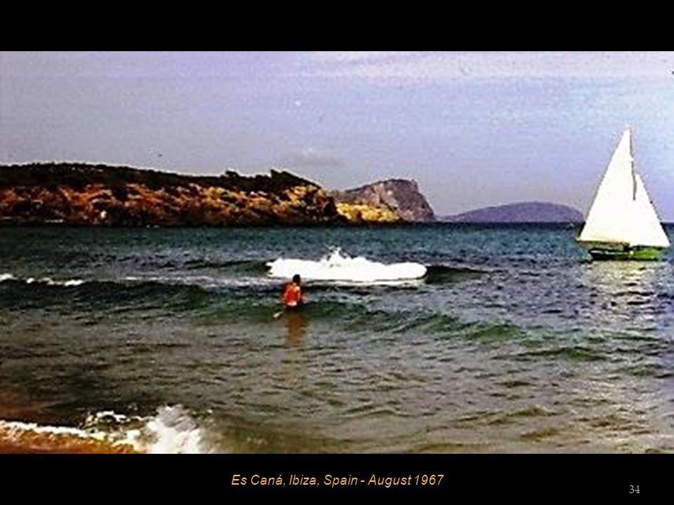Es Caná, Ibiza, Spain - August 1967 Hett 33