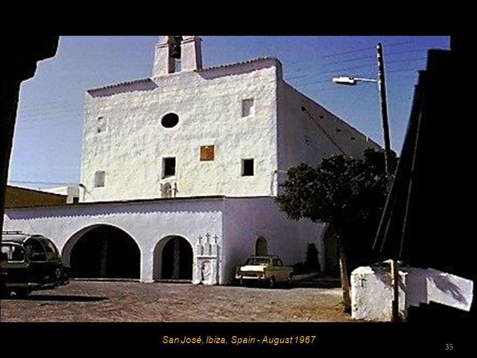 Es Caná, Ibiza, Spain - August 1967 34