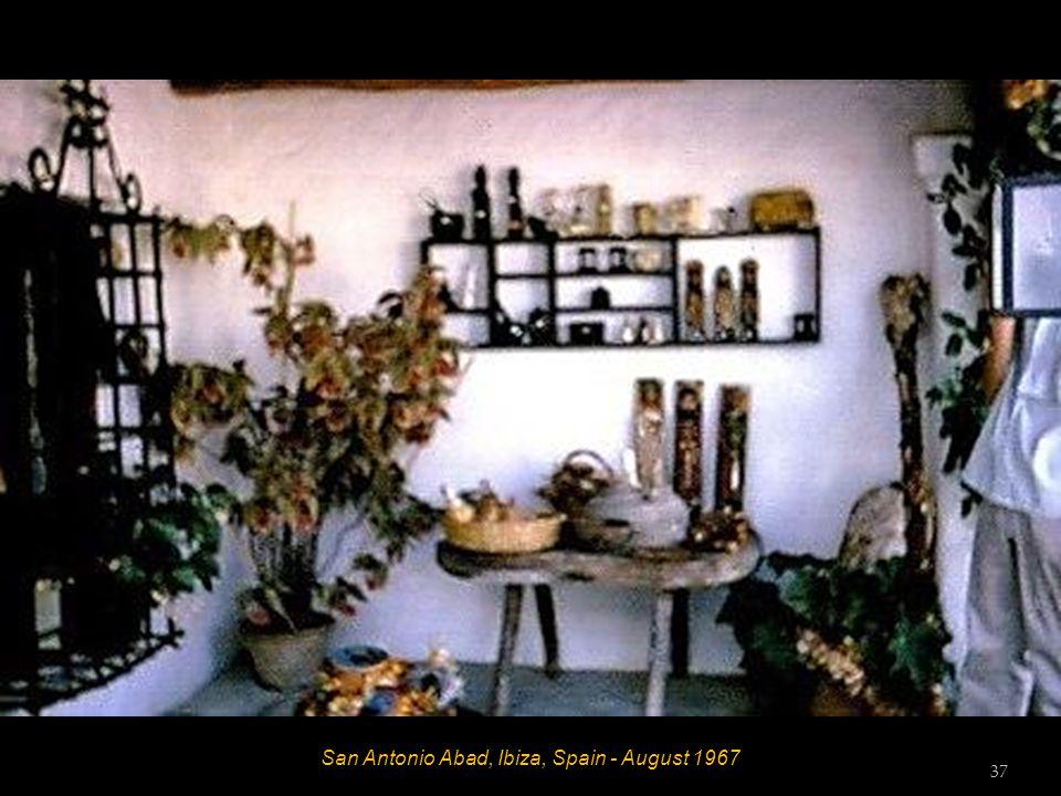 San José, Ibiza, Spain - August 1967 36