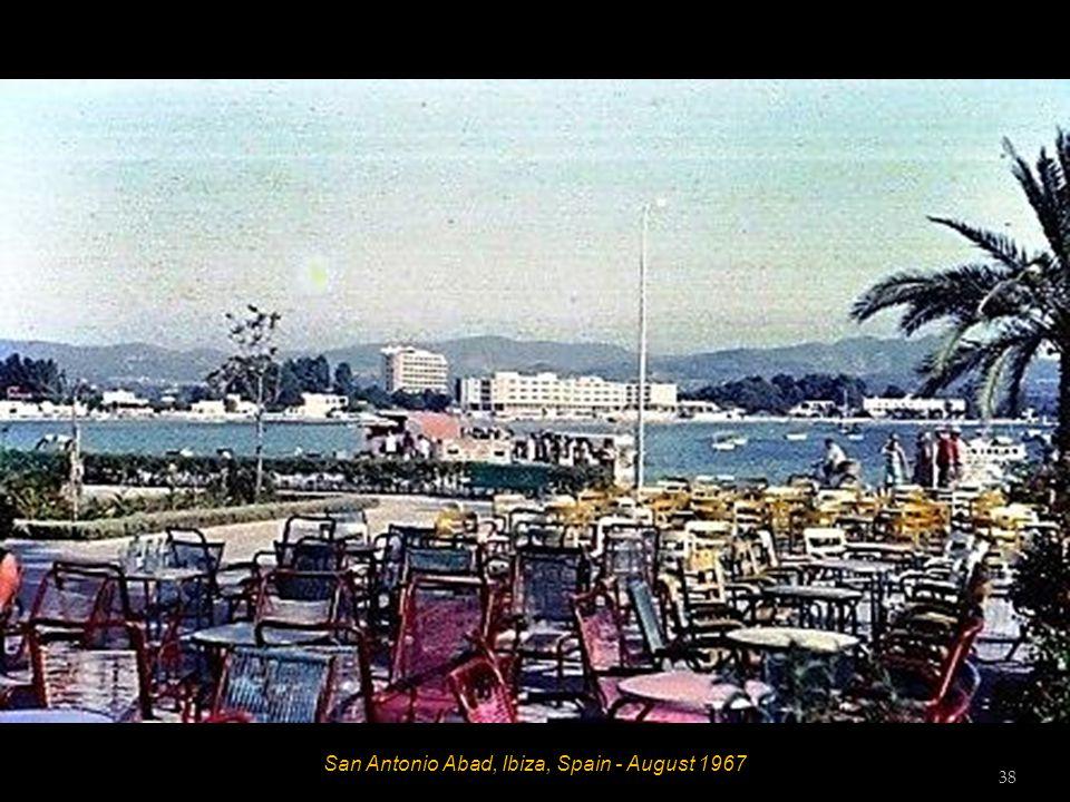 San Antonio Abad, Ibiza, Spain - August 1967 37