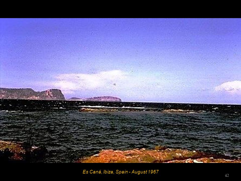 Es Caná, Ibiza, Spain - August 1967 41