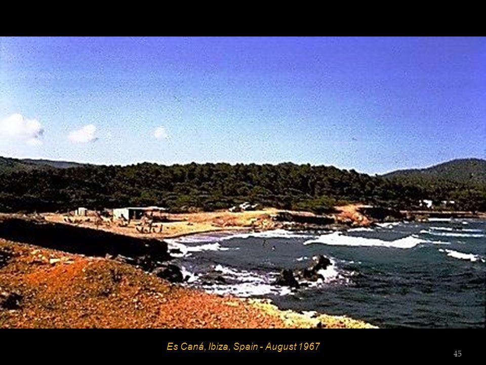Es Caná, Ibiza, Spain - August 1967 Hett 44