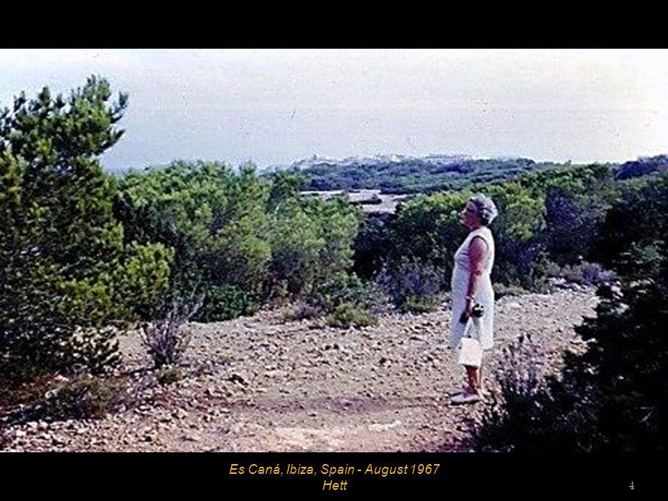 Es Caná, Ibiza, Spain - August 1967 3