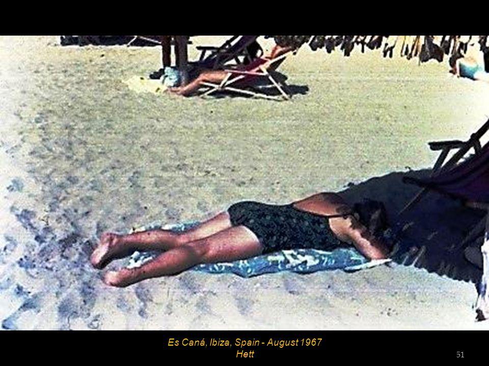 Es Caná, Ibiza, Spain - August 1967 50