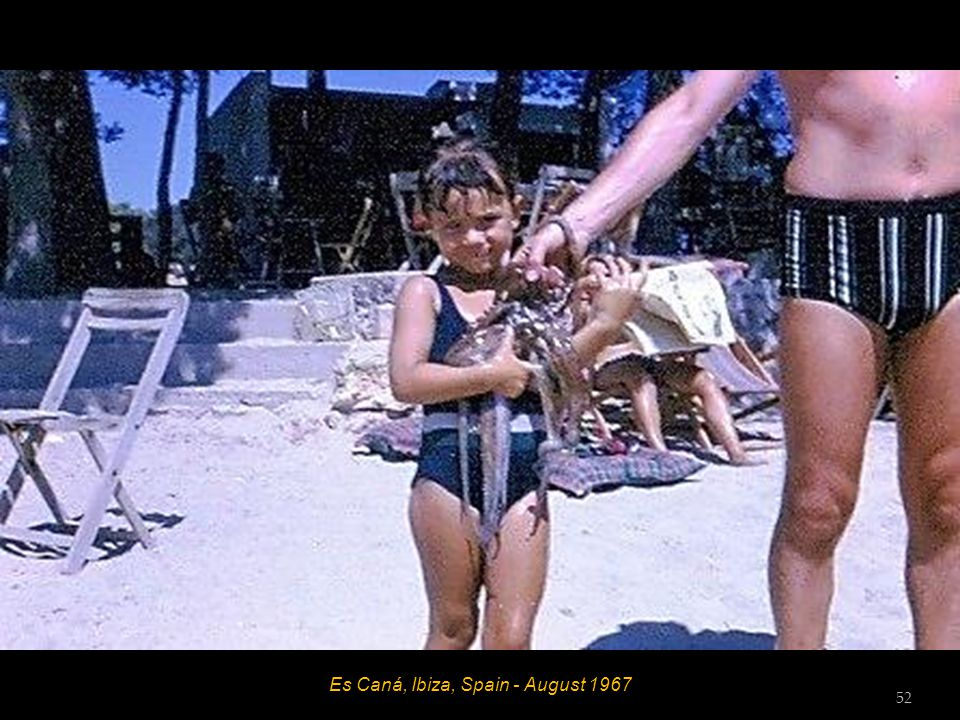 Es Caná, Ibiza, Spain - August 1967 Hett 51