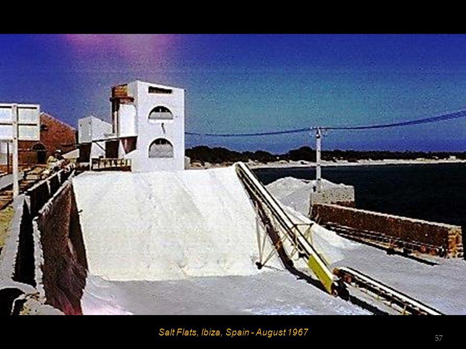 Es Caná, Ibiza, Spain - August 1967 56