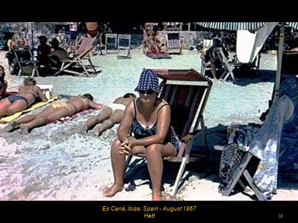 Salt Flats, Ibiza, Spain - August 1967 57