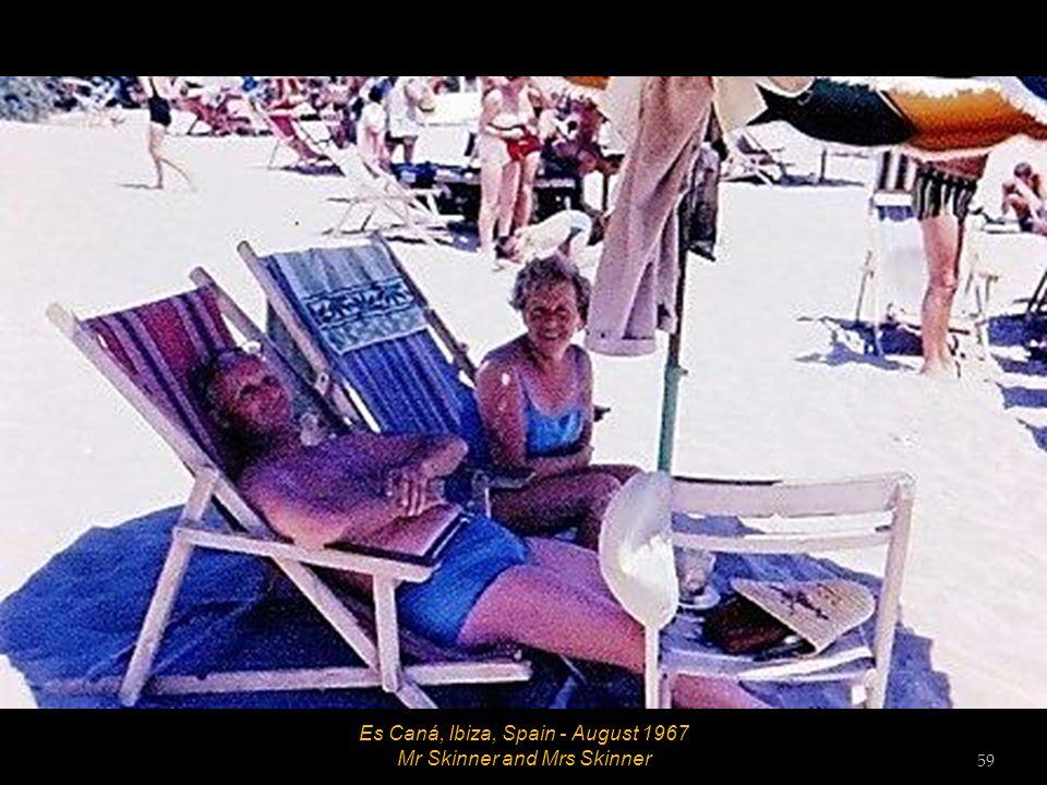 Es Caná, Ibiza, Spain - August 1967 Hett 58