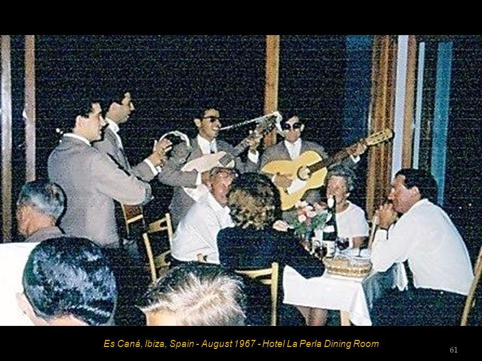 Es Caná, Ibiza, Spain - August 1967 60
