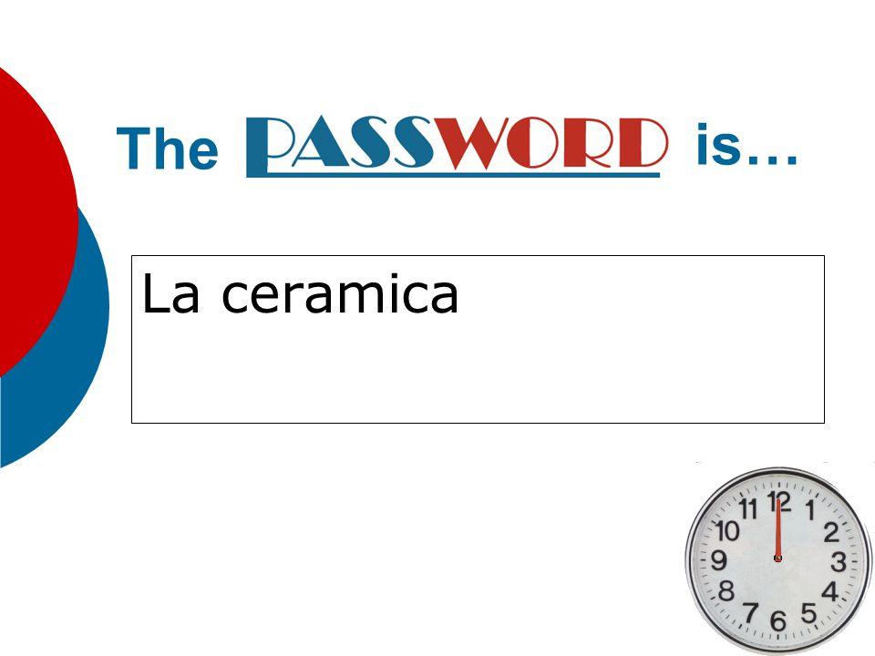 La ceramica The is…