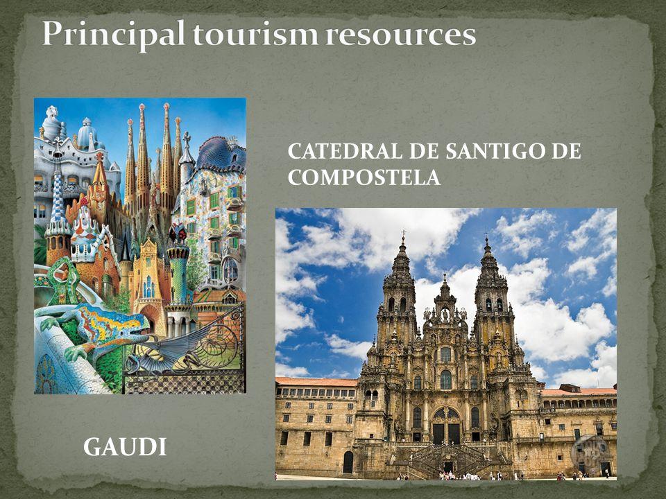 GAUDI CATEDRAL DE SANTIGO DE COMPOSTELA