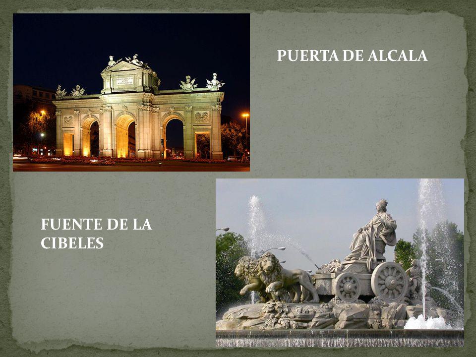 PUERTA DE ALCALA FUENTE DE LA CIBELES