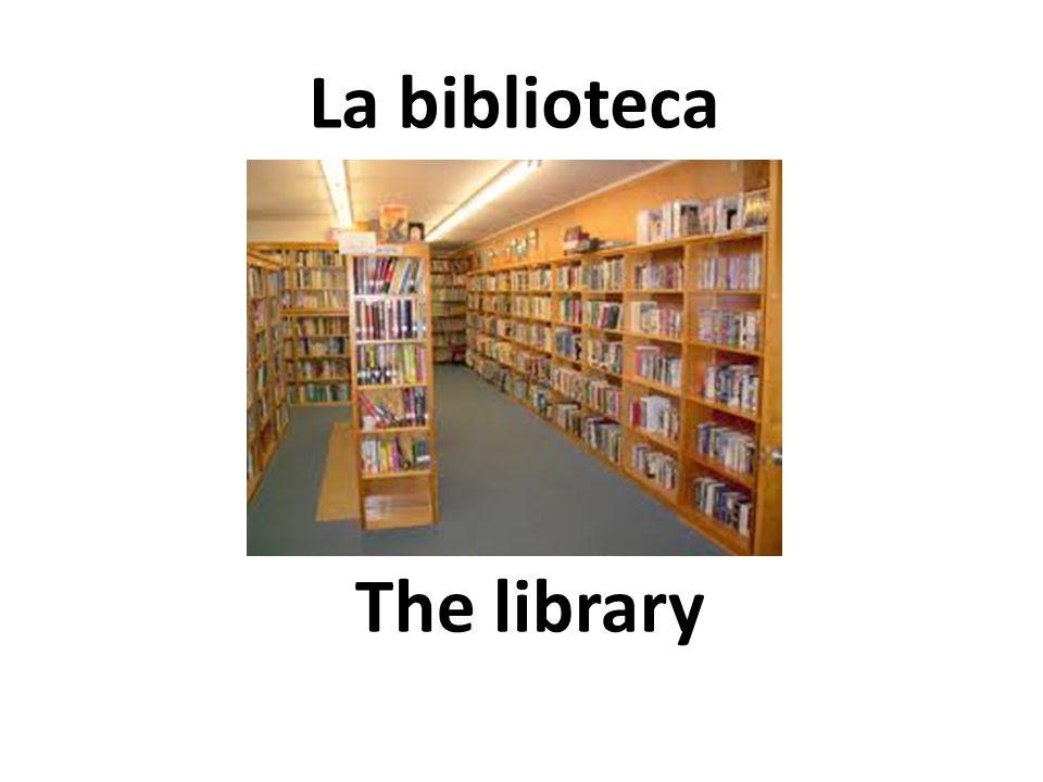 The library La biblioteca
