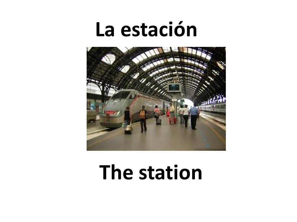 The station La estación