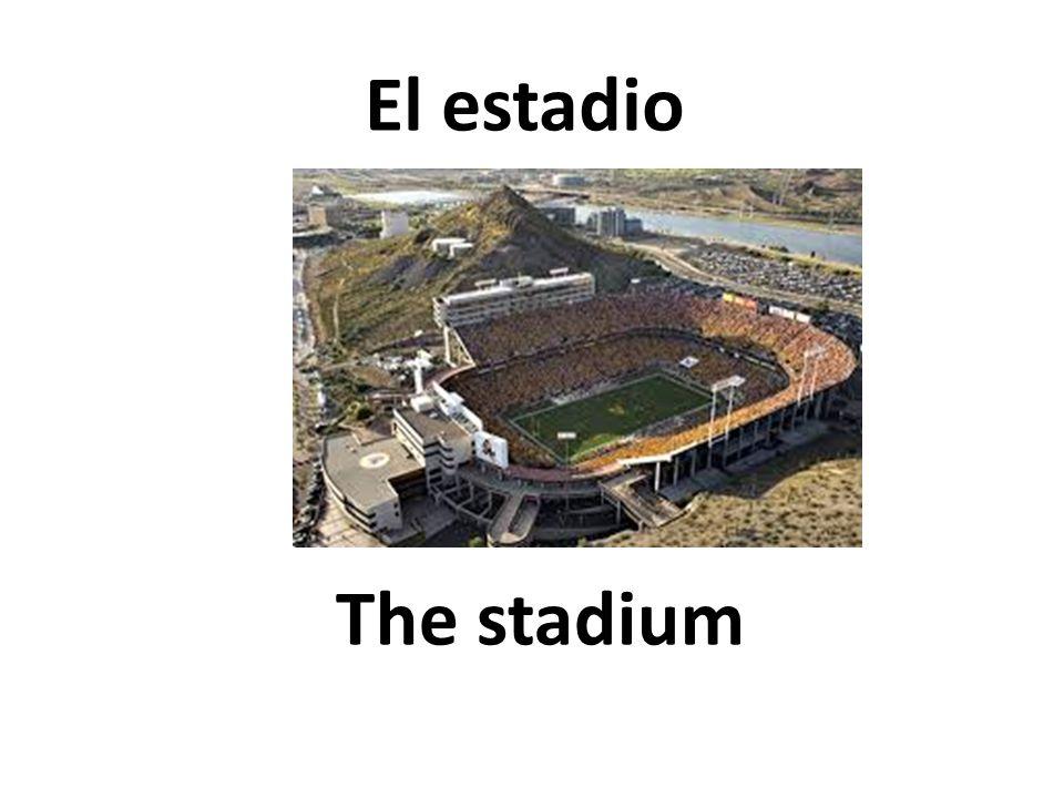 The stadium El estadio