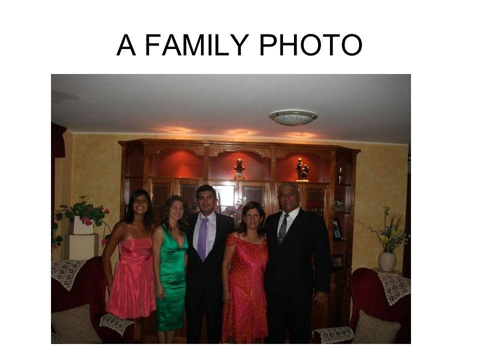 MY FAMILY Me: Pedro Rubio Flores My wife: Sara Pino De Rubio My son: Pedro Rubio Pino My daughter-in-law: Laura Pellegrini My daughter: Sara Rubio Pino