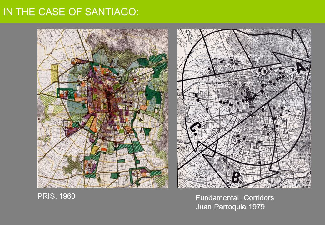 FundamentaL Corridors Juan Parroquia 1979 PRIS, 1960 IN THE CASE OF SANTIAGO: