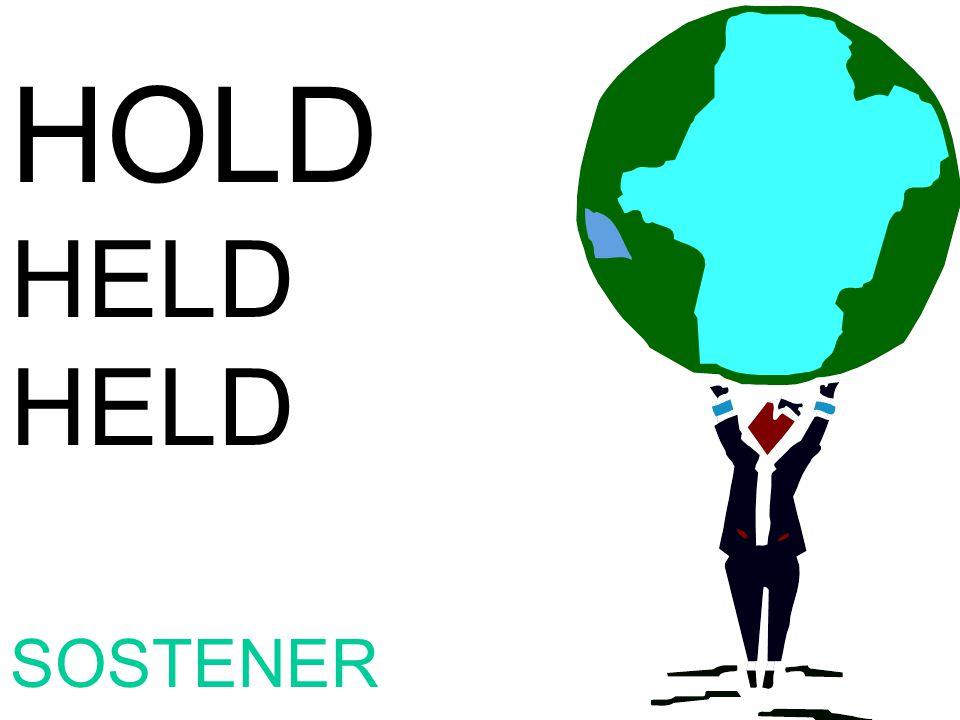 HOLD HELD SOSTENER