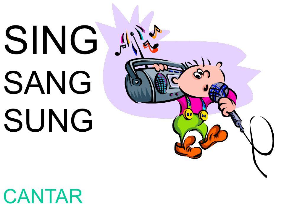 SING SANG SUNG CANTAR