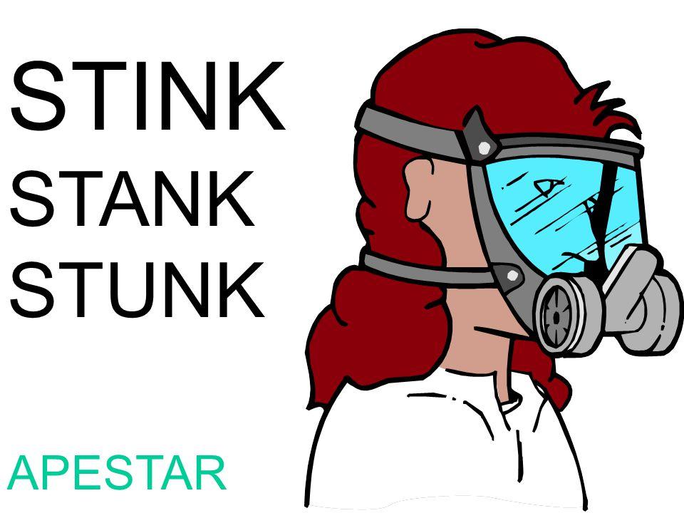 STINK STANK STUNK APESTAR