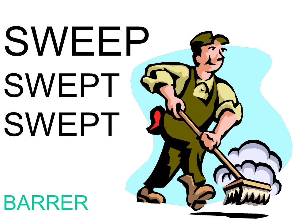 SWEEP SWEPT BARRER