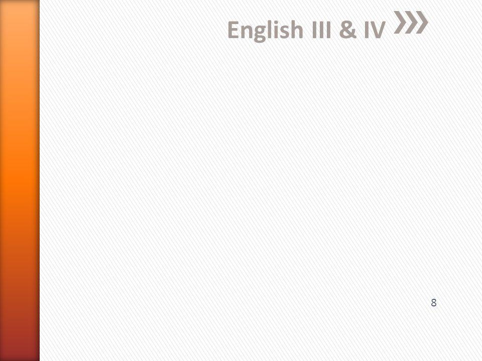 English III & IV 8