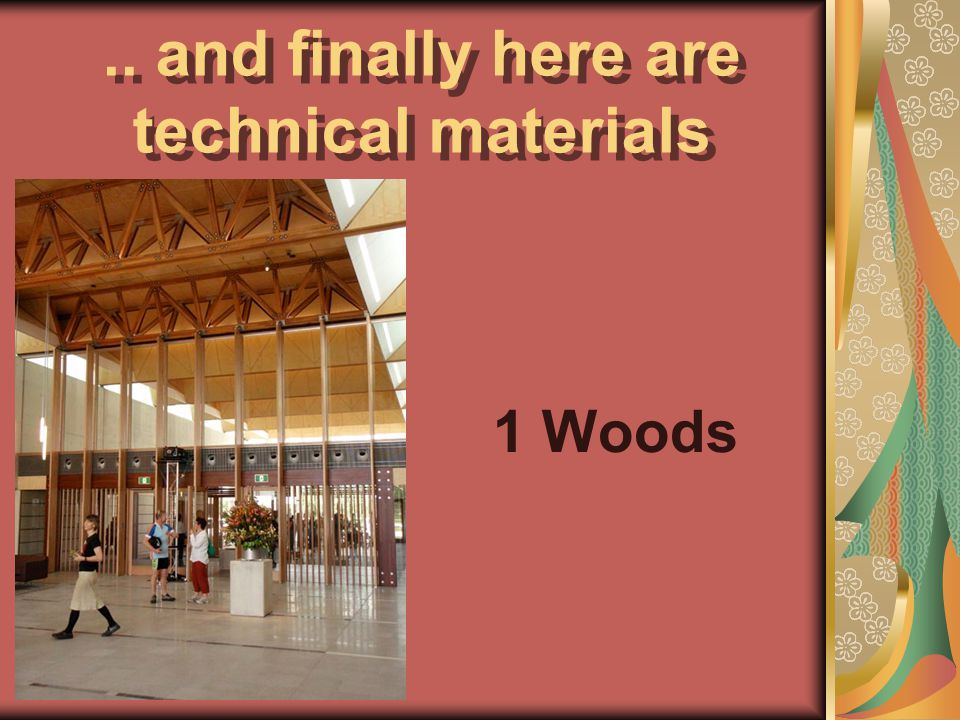Octavio Sáez. Murcia. Pale 2011.. and finally here are technical materials 1 Woods
