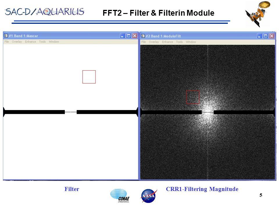 FFT2 – Filter & Filterin Module 5 CRR1-Filtering MagnitudeFilter
