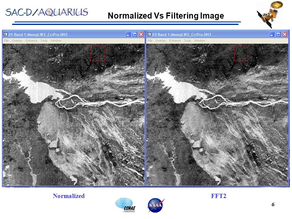 7 NormalizedFFT2 Normalized Vs Filtering Image