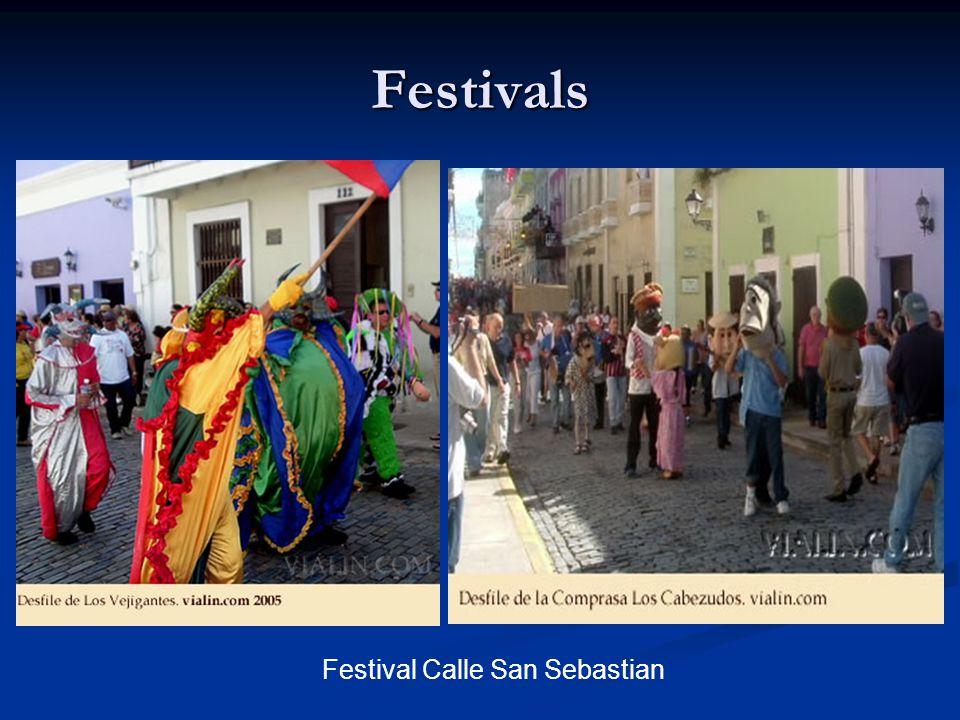 Festivals Festival Calle San Sebastian