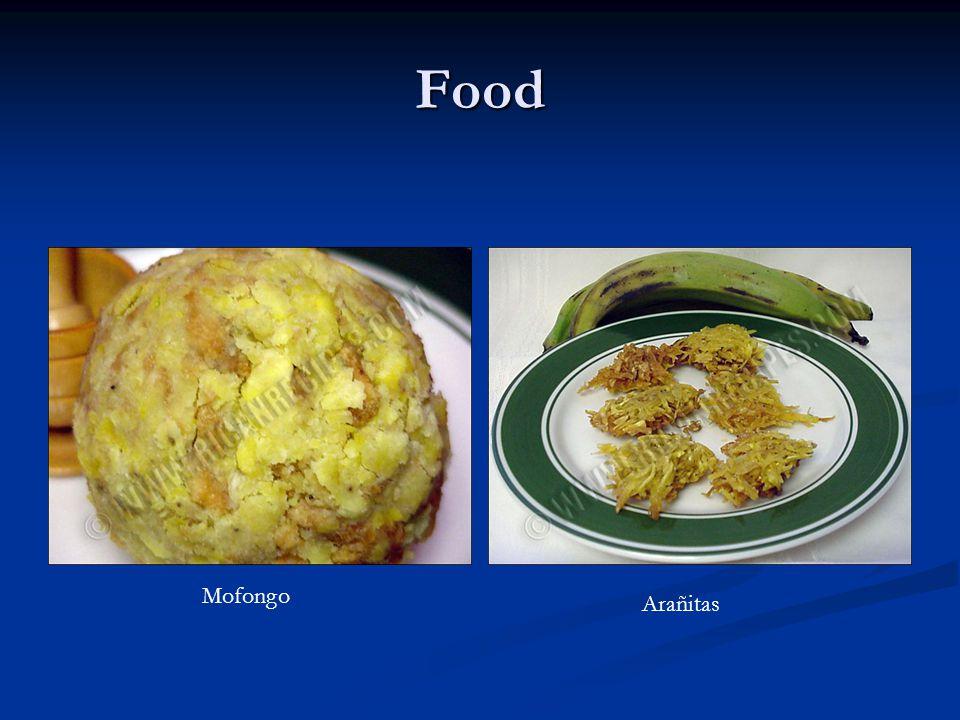 Food Mofongo Arañitas