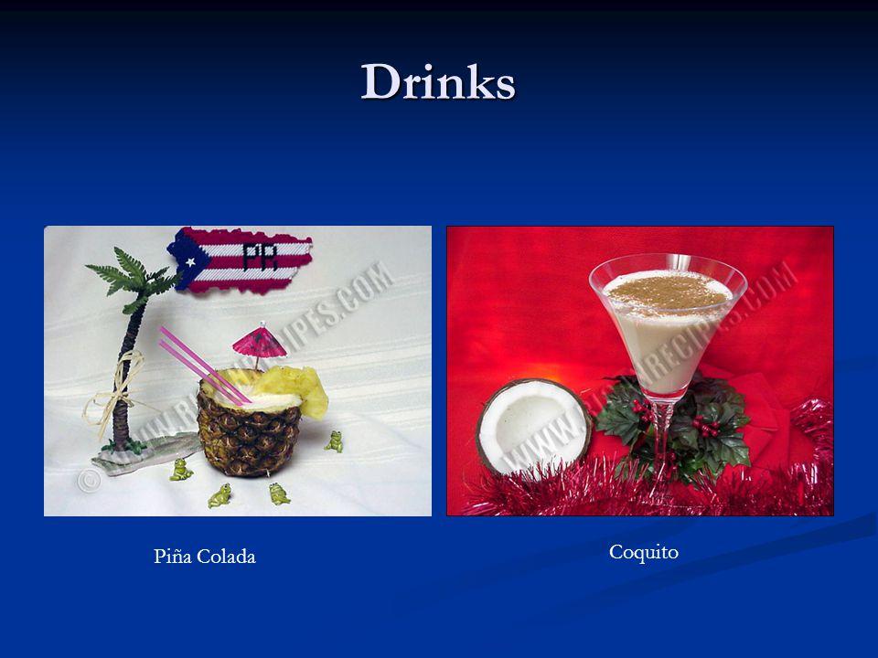 Drinks Piña Colada Coquito