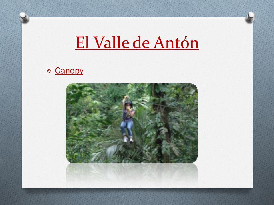 El Valle de Antón O Canopy