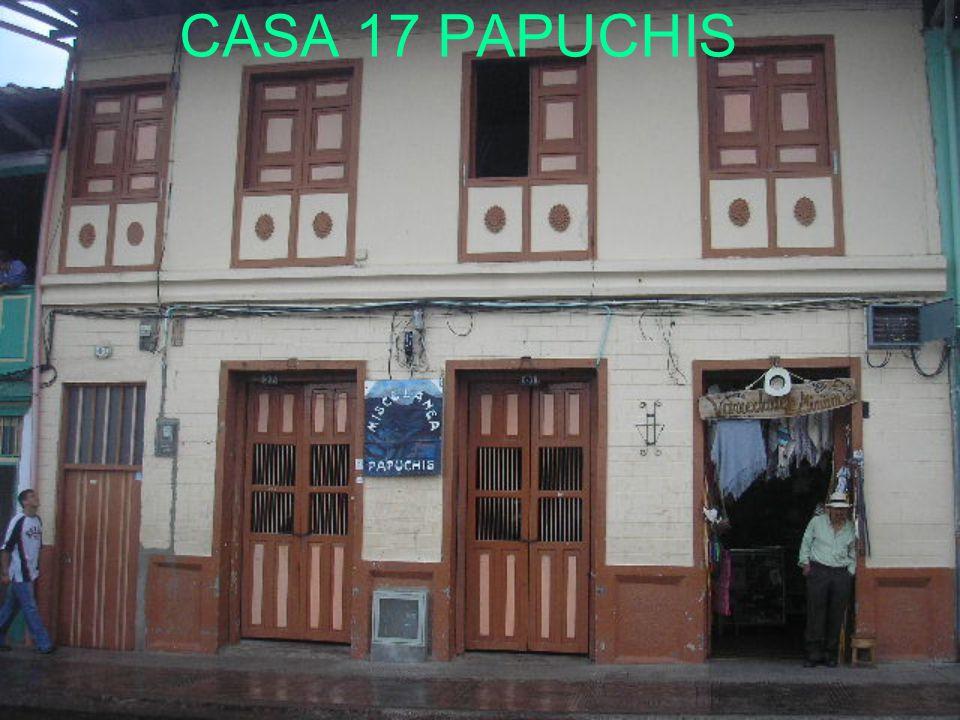 CASA 17 PAPUCHIS