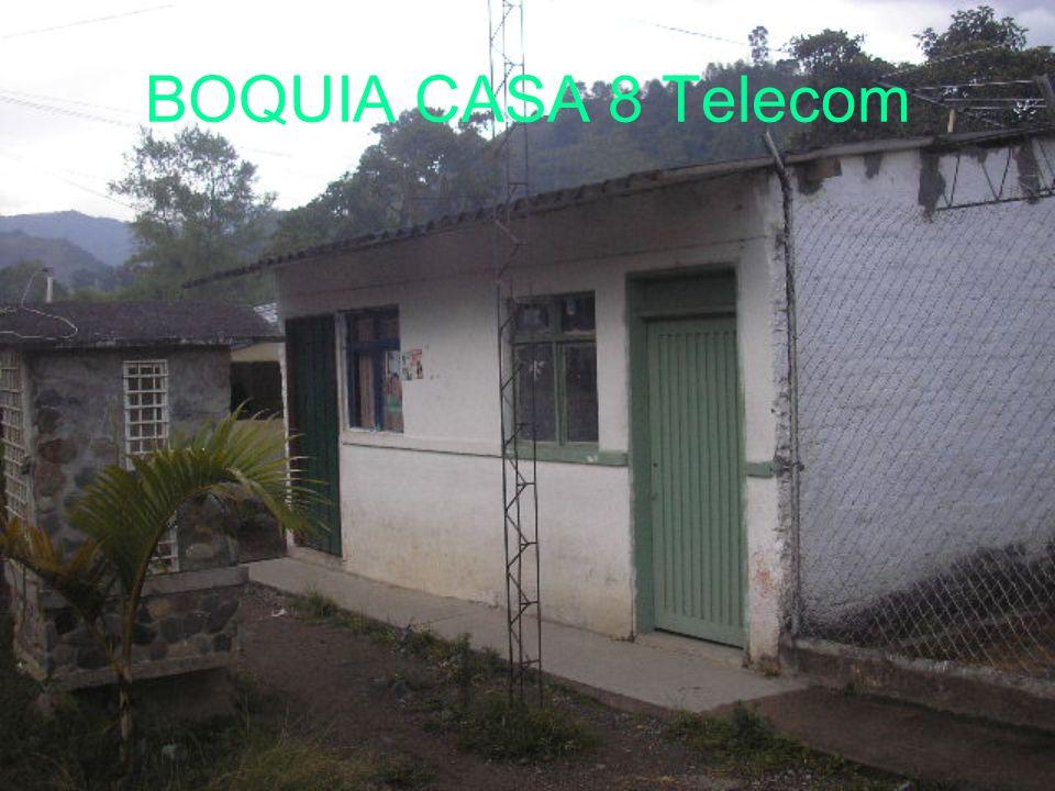 BOQUIA CASA 8 Telecom