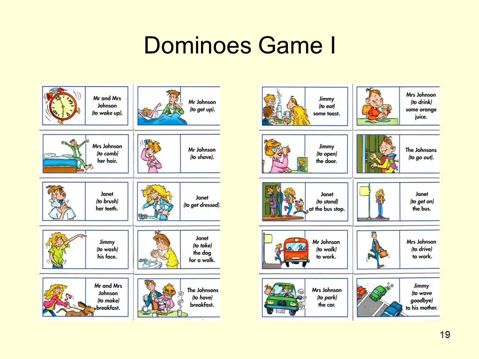 19 Dominoes Game I