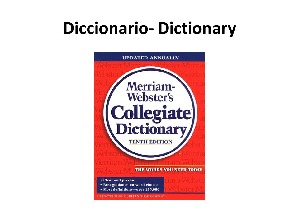 Diccionario- Dictionary