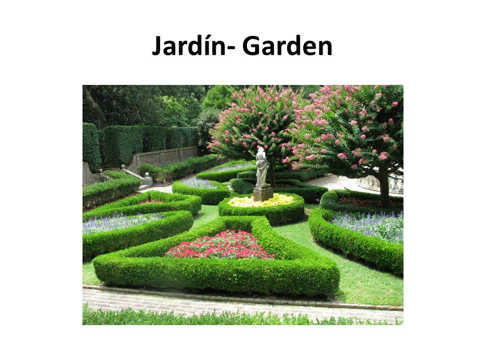 Jardín- Garden