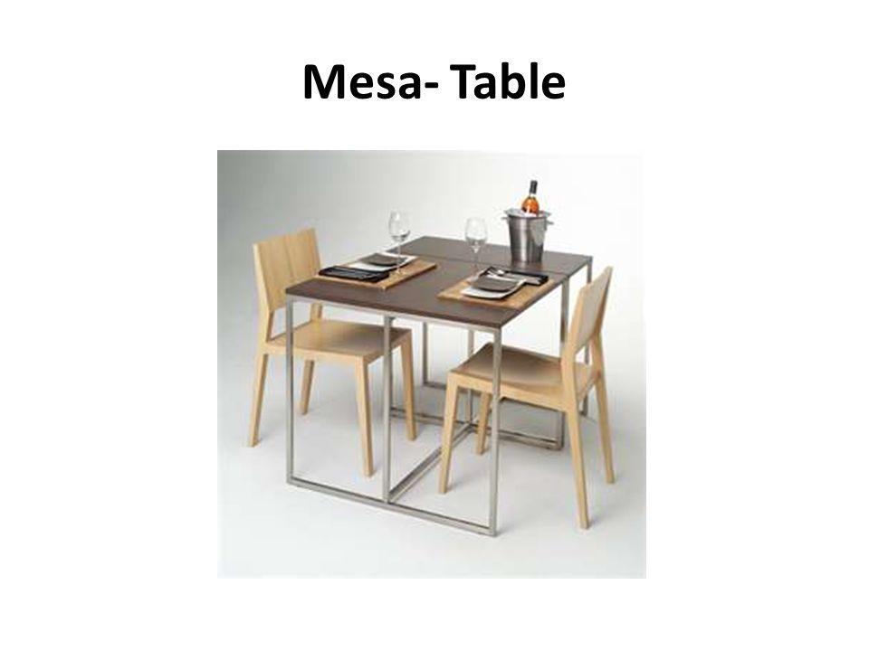 Mesa- Table