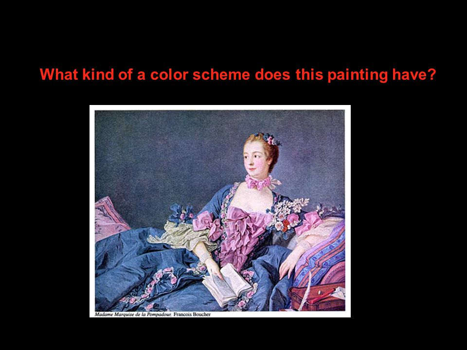 What kind of a color scheme does this painting have