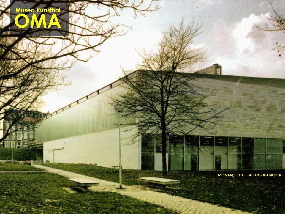 Museo Kunsthal OMA MP MARCHETTI – TALLER SUDAMERICA