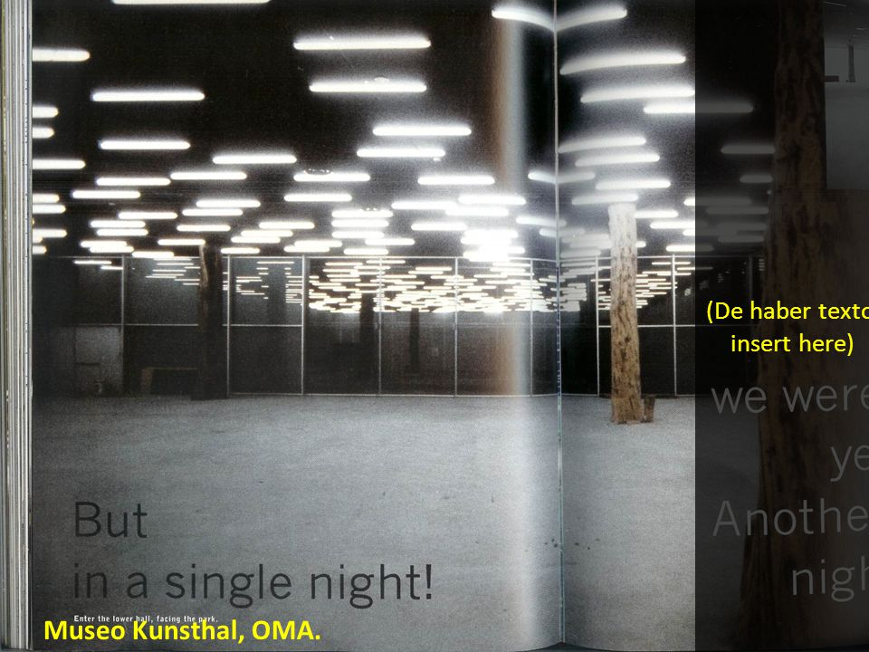 Museo Kunsthal, OMA.
