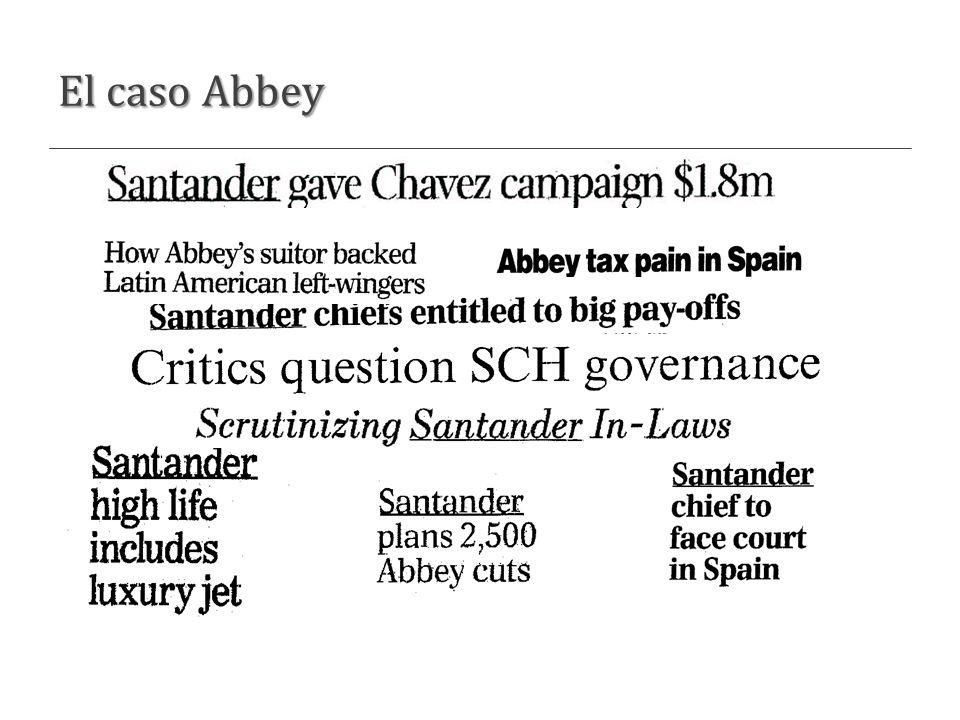 El caso Abbey