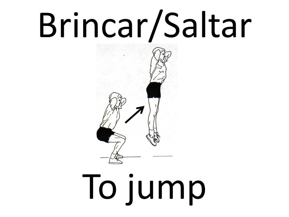 Brincar/Saltar To jump