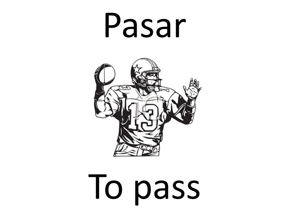 Pasar To pass