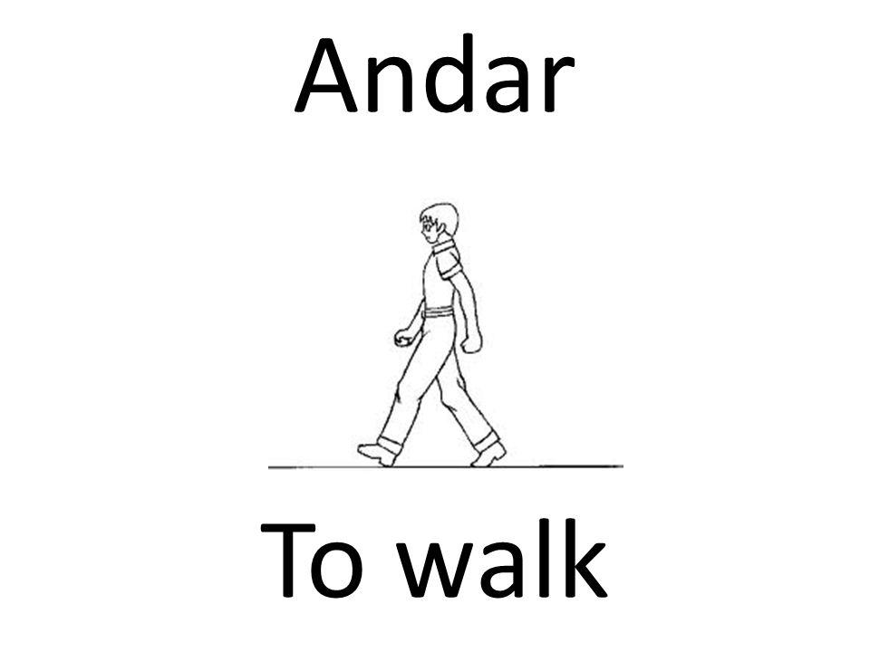 Andar To walk