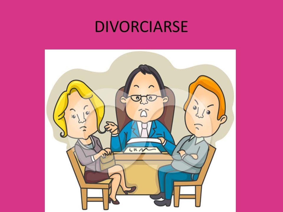 DIVORCIARSE