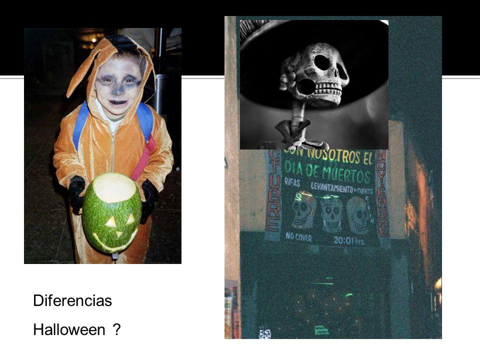 Diferencias Halloween
