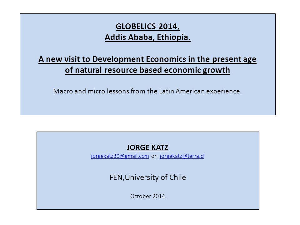 GLOBELICS 2014, Addis Ababa, Ethiopia.