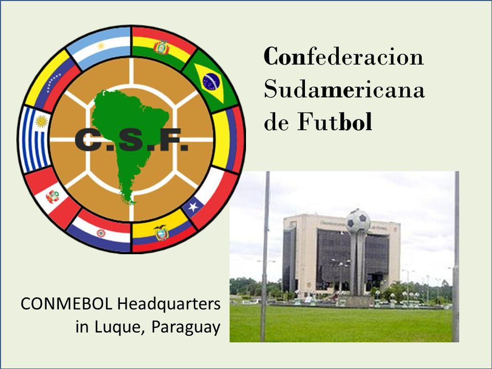 Confederacion Sudamericana de Futbol CONMEBOL Headquarters in Luque, Paraguay